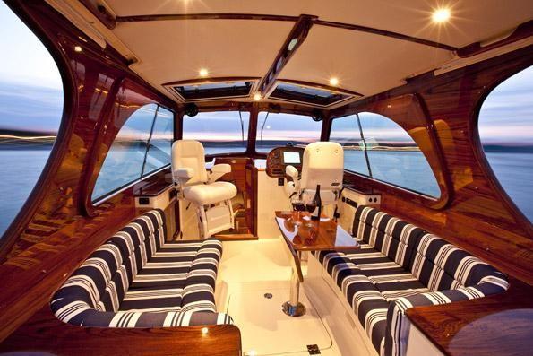 Photo courtesy of Hinckley Yachts