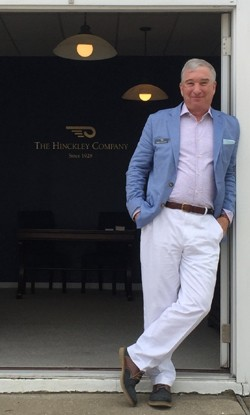 Dave Mallach in Sag Harbor NY at his showroom